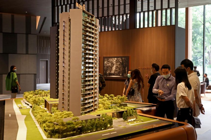 """Kopar at Newton recognised negligible revenue for the period as construction progress was in the initial stages at the end of the """"circuit-breaker"""" period."""
