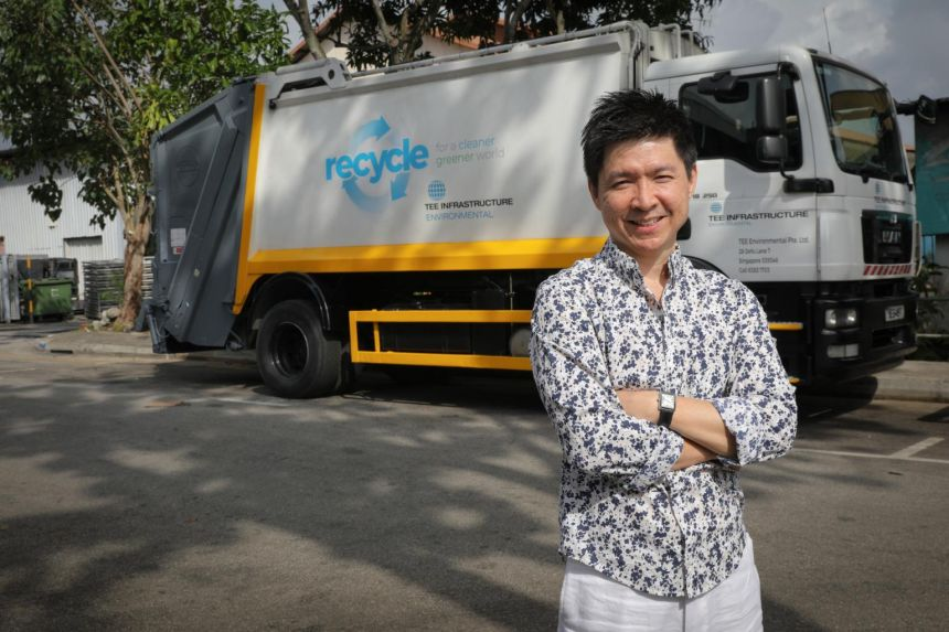 Mr Lim Chin Khuang, managing director of environmental services company Tee Environmental, says that if you already have a certain understanding of environmental issues, you'll know that the job you do is contributing to social good.