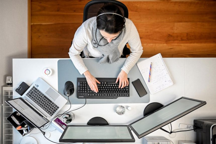 The number of people working remotely has skyrocketed since January 2020, with approximately half the US labour force working from home in the early days of the pandemic.
