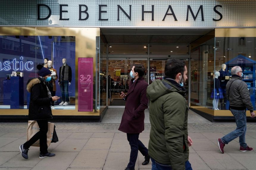 Administrators for Debenhams said in December it would be wound down.