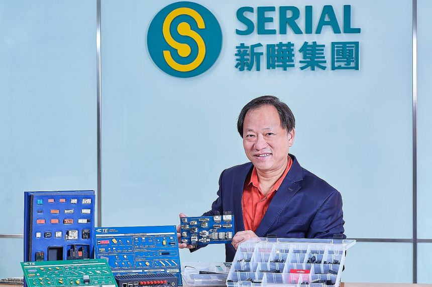 Serial System's executive chairman Derek Goh Bak Heng says that one thing he has learnt from the events of the past few years is to never overly rely on any single customer or any single business. PHOTO: SERIAL SYSTEM