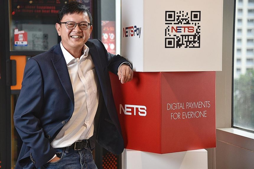 Nets group CEO Lawrence Chan is looking to beef up Nets Click, a payment method that allows consumers to add their Nets bank card details in an app and use it to pay for purchases. Other plans in the pipeline include ramping up adoption of contactles