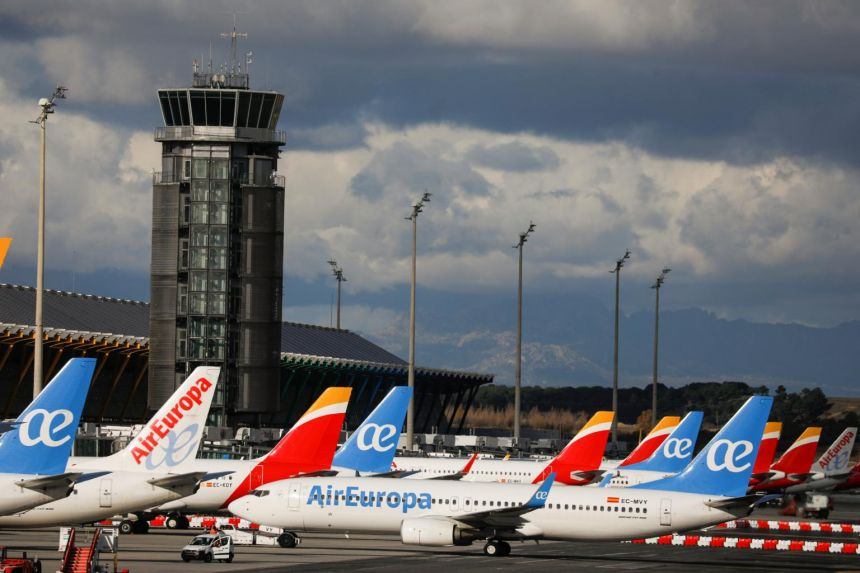 Passenger traffic fell by almost two thirds last year compared with 2019, the International Air Transport Association said.