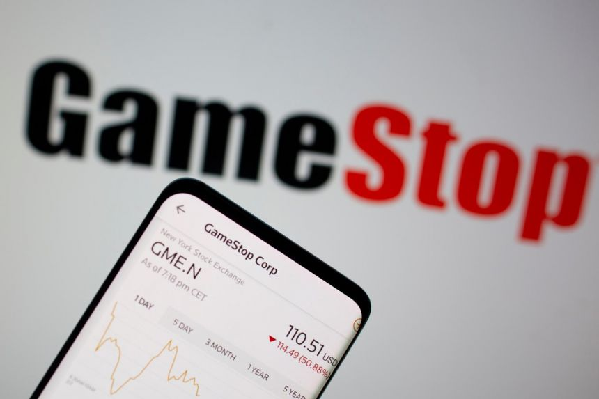 The video-game retailer tumbled 42 per cent to US$53.50, erasing nearly US$30 billion (S$40 billion) in market value.