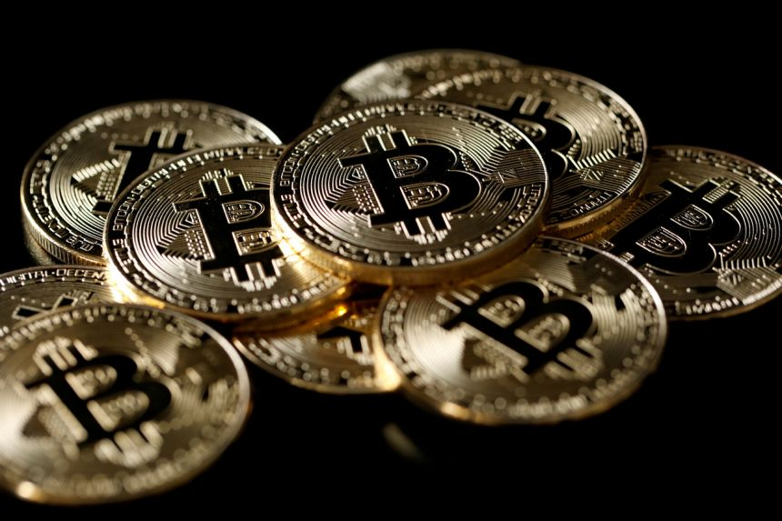 Global crypto stocks have surged as bitcoin more than quadrupled in value over the past year.