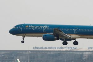 "Vietnam Airlines flight attendant Duong Tan Hau was convicted of ""spreading dangerous infectious diseases"" at the one-day trial."