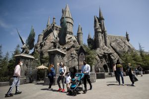 For now, Universal's theme park is following the government's 25 per cent capacity restrictions.