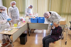 Japan has inoculated only 2.2 per cent of its population so far, the slowest among wealthy countries.