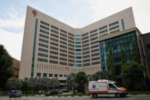 The woman had been warded in Ward 9D from April 14, and was confirmed to have Covid-19 on April 28.