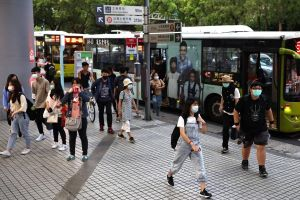 A recent small rise in community transmissions has spooked residents in Taiwan.