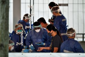 Singapore will continue to rely on vaccination and testing to keep the Covid-19 situation under control, said Finance Minister Lawrence Wong on Sept 3, 2021.