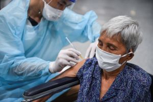 Thailand has fully vaccinated 6.7 per cent of an estimated 10.9 million people aged 60 and older.