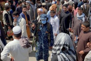 Since the group entered Kabul on Aug 15, armed members have roamed the streets in battlefield dress.