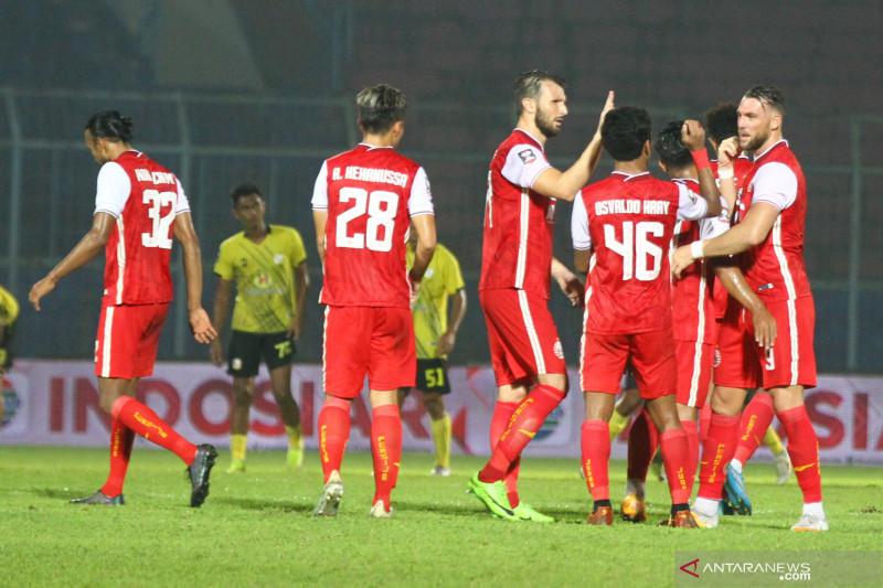 Persija fokus benahi fisik pemain setelah libur PPKM