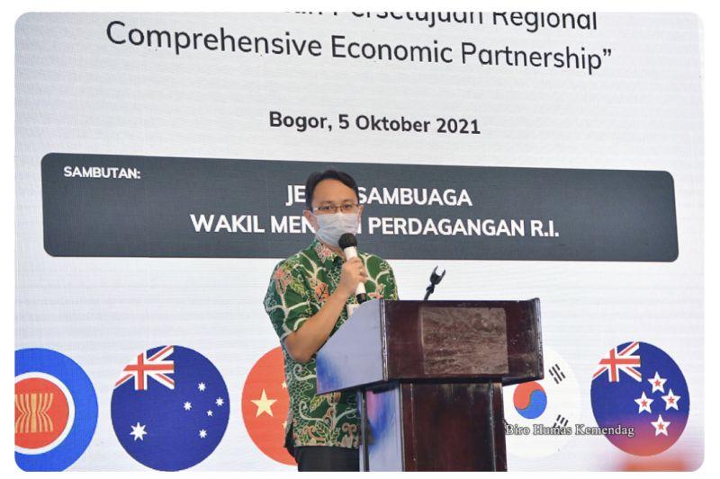 Wamendag tekankan peran penting Indonesia dorong implementasi RCEP