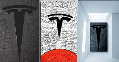 Wei Art Collections Unveils Tesla-Inspired, Limited Collection Artwork