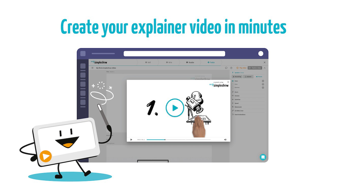 Simpleshow Video Maker Enables the Creation of Animated Explainer Videos within Microsoft Teams