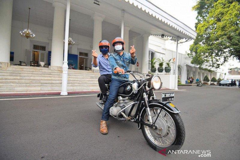 AHY safari politik ke Bandung temui Kang Emil sampai warga Soreang