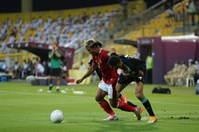 Kegagalan penalti Evan Dimas warnai laga lawan UEA di babak pertama