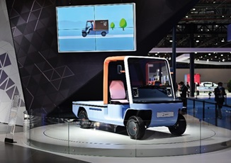 """APOLLO FUTURE MOBILITY GROUP announces its urban delivery vehicle UME was awarded the """"Best of Best"""" in the """"Commercial"""" category in the Automotive Brand Contest 2021 in Germany"""