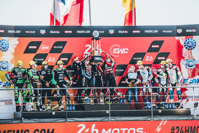 Motul 300V proves reliability by conquering double victory at FIM Endurance World Challenge 2021 season opener