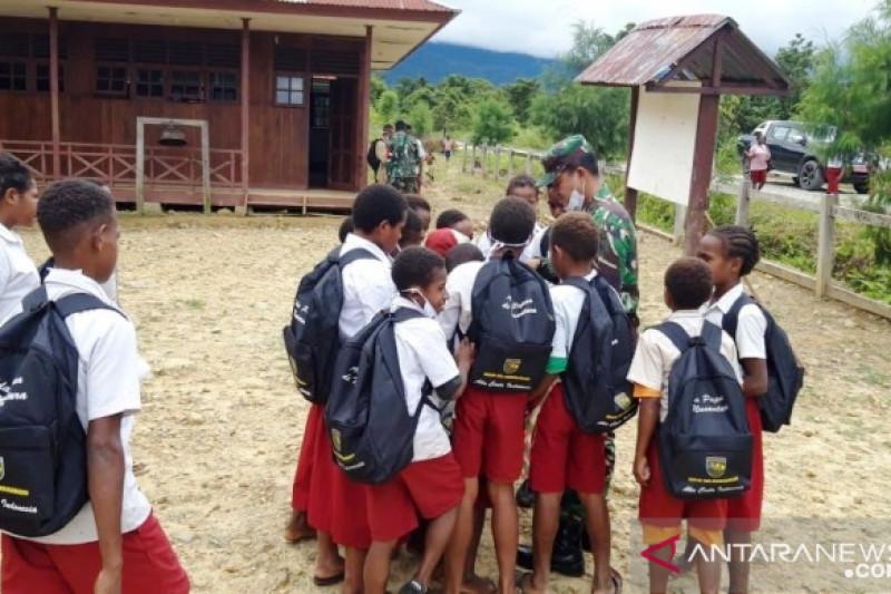 Aksi teritorial inovatif digelar bagi pelajar di Pegunungan Bintang