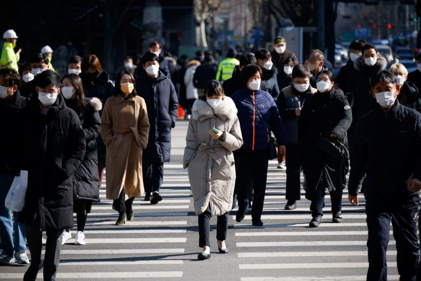 On Feb 26, the government said it would extend social distancing rules for two weeks nationwide.