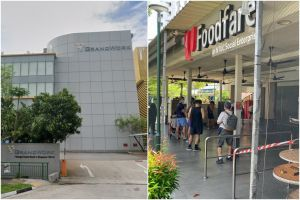 A repairman who works at Grandwork Interior is one of the cases. The other is linked to the NTUC Foodfare cluster.