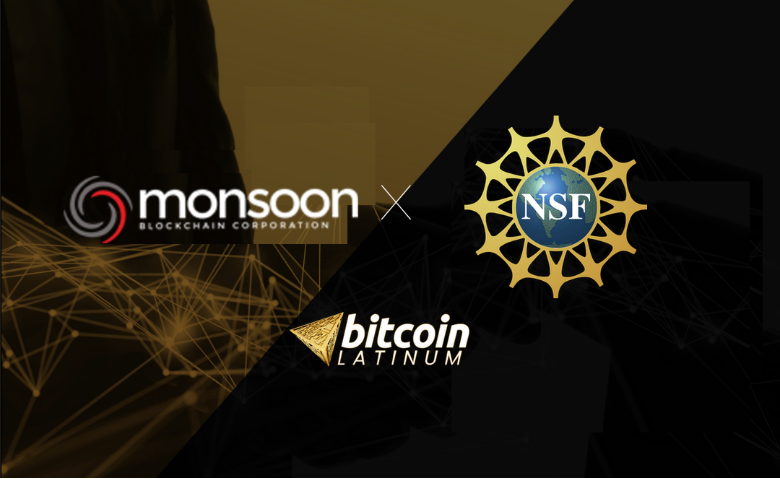 Monsoon Blockchain Corporation Partners with National Science Foundation (NSF) to Promote the Progress to Science