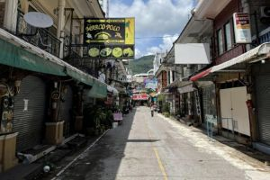Many businesses shuttered since early 2020 after Thailand closed the border to foreign tourists.