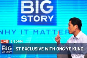 Living with Covid-19: ST exclusive interview with Ong Ye Kung   The Big Story (Special Edition)