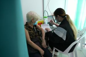 About 29 per cent of seniors above 70 are unvaccinated, said Health Minister Ong Ye Kung.