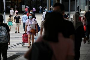 Singapore reported a total of 2,356 new coronavirus cases on Oct 2, including 1,938 community infections.