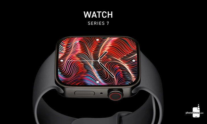 เผยภาพเรนเดอร์ Apple Watch Series 7 ดีไซน์ใหม่สุดตระการตา