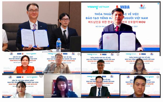 Hợp tác đào tạo tiếng Hàn cho học sinh, sinh viên Việt Nam