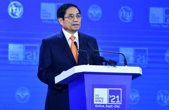 Thủ tướng: 'Chính phủ luôn tin tưởng lực lượng doanh nghiệp công nghệ số Việt Nam'