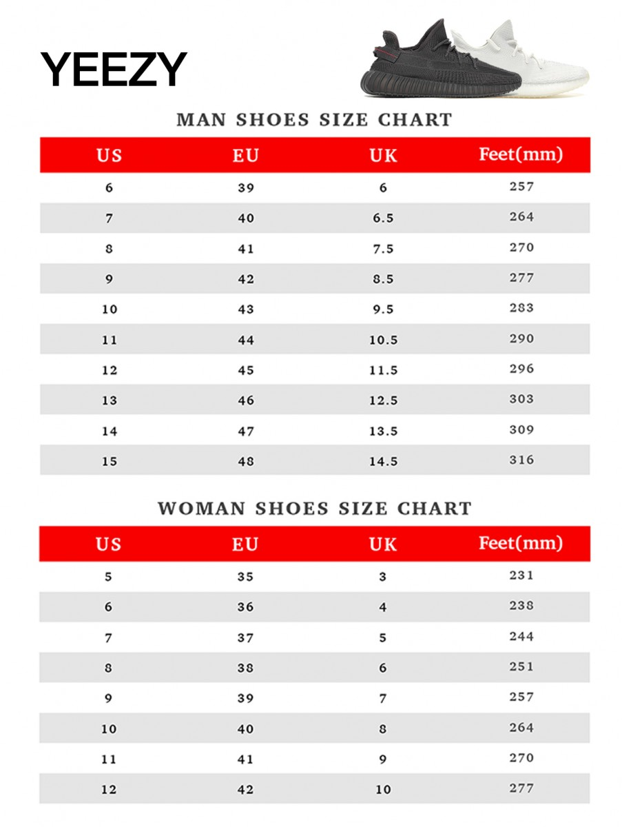 uk yeezy size chart buy clothes shoes
