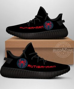 reputable site e08b8 79610 Autism Man Yeezy Black V1