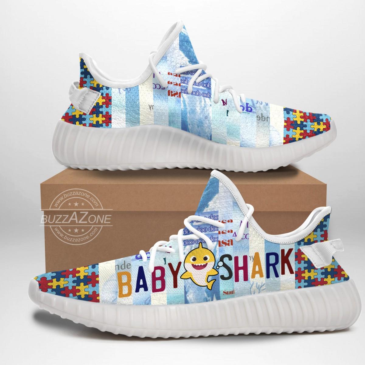 Autism Baby Shark Doo Doo Doo Yeezy