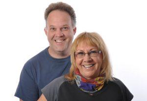 Inge Kraus and Edward Omagbemi