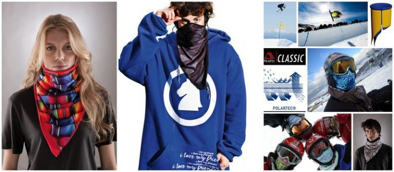 Collage: Showing the global Buff® community wearing Bandanas