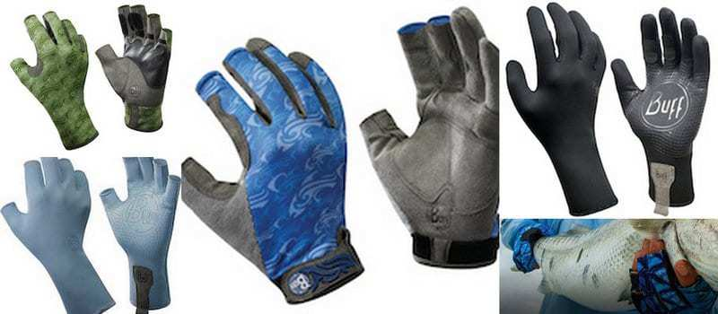 Buff® has 4 different type of fishing gloves. Angler, Water, MXS and Fighting Work