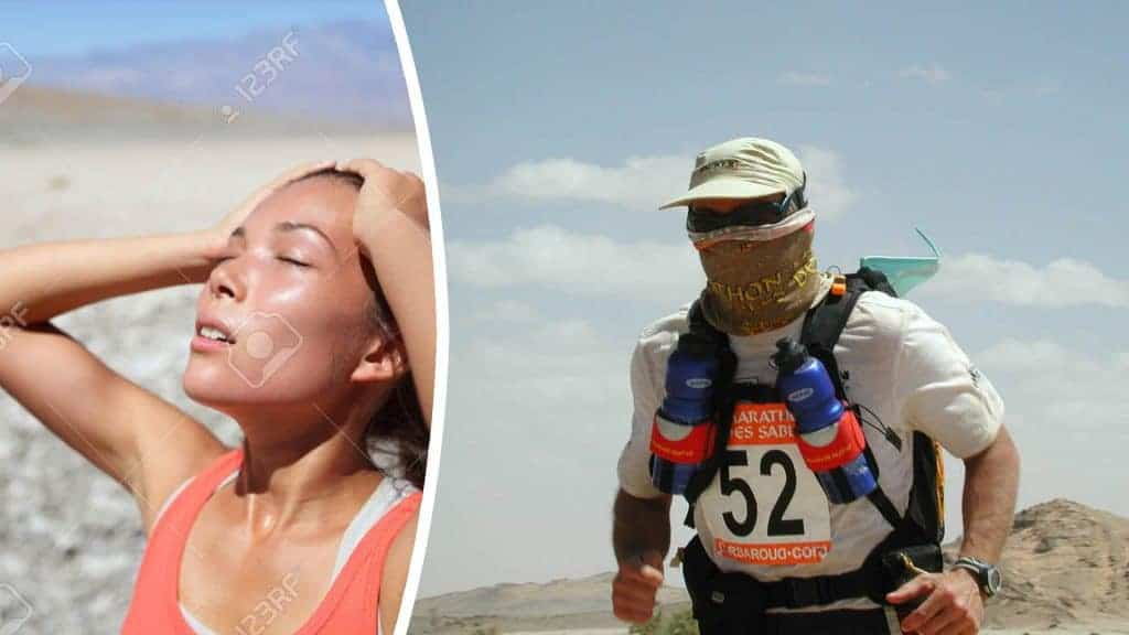Extreme Heat. The High UV Buff® fabric cools you. So good you can use it as a face mask whilst running.