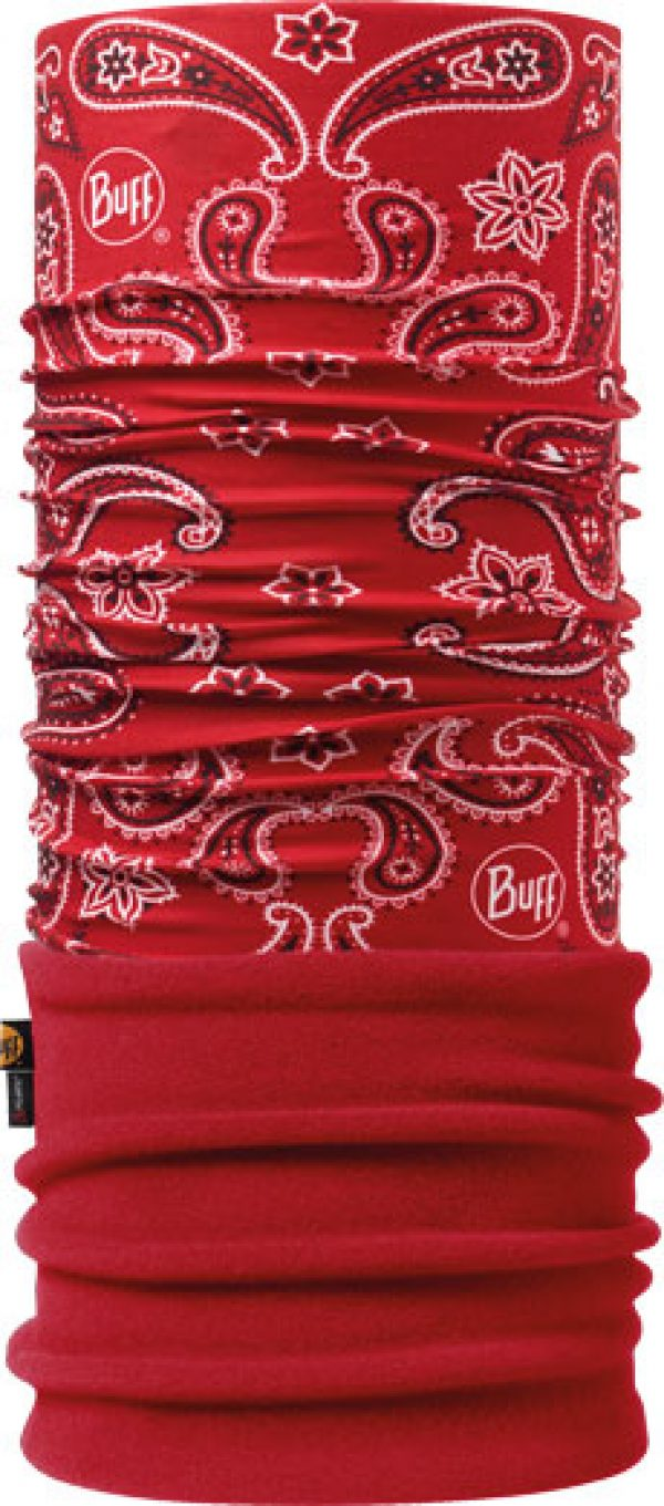 """Image of the Polar Buff® design """"Cashmere Red / Red"""""""