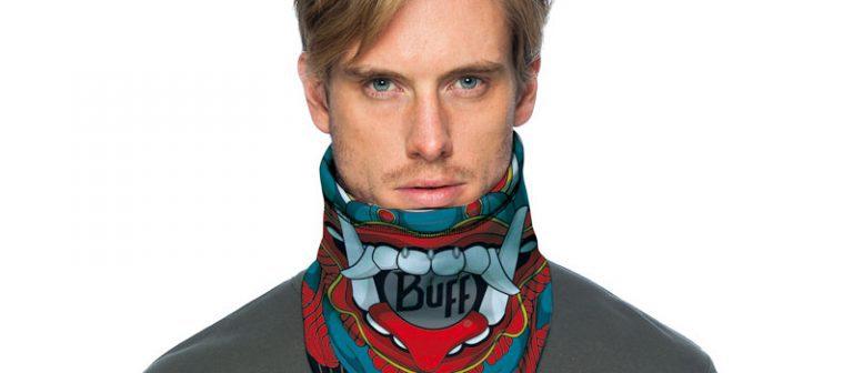 A frontal shot of a white male wearing a Ketten Bandana Buff®. © Original Buff S.A. Distributed for the promotion of the Ketten Bandana Buff®.