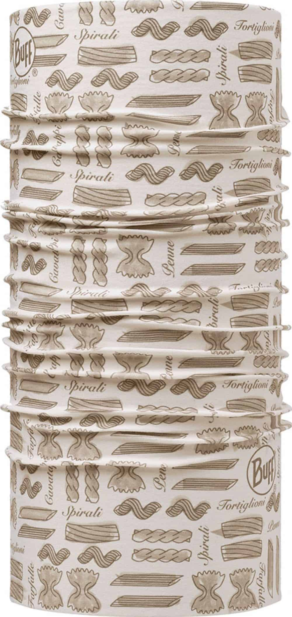 "Studio photo of the Professional range Dry Cool Buff® Chefs Collection design ""Spirali Cru"". Source: buff.eu"