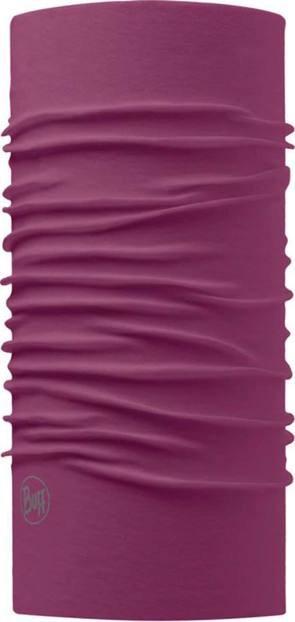 "A studio photo of the Original Buff® design ""Purple Amaranth"". Source: buff.eu"