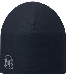 """A studio photo of the 203076 Pro Thermal Hat """"Navy"""". Source: buff.eu"""