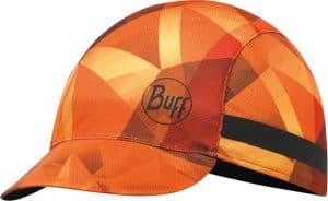 "A studio photo of the Pack Bike Cap design ""Flame Orange"". Source: buff.eu"