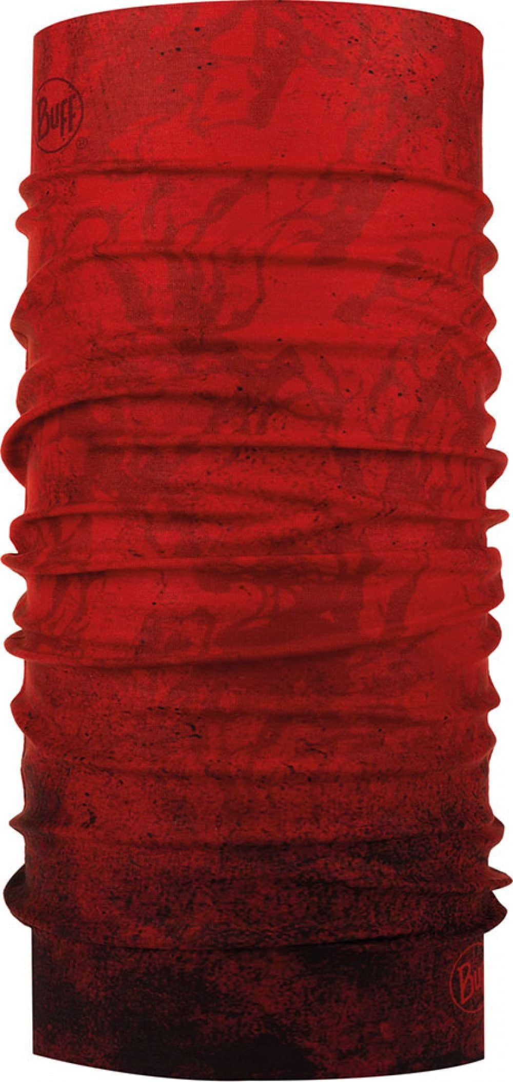"Studio photo of the Original Buff® Design ""Katmandu Red"". Source: buff.eu"
